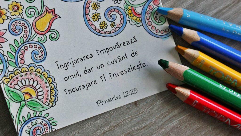 versete biblice de incurajare